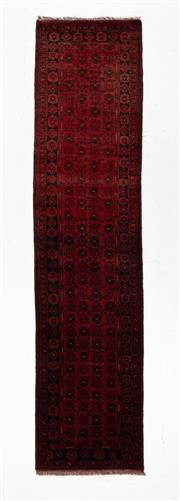 Sale 8780C - Lot 294 - An Afghan Khal Mohammadi 100% Wool, 338 x 79cm