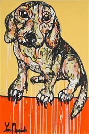 Sale 8853A - Lot 5064 - Yosi Messiah (1964 - ) - Love Dog 91 x 61cm