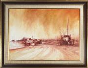 Sale 9082 - Lot 2032 - Rex Backhaus-Smith (1935 - ) - Airlie Beach, North Queensland 54.5 x 74.5 cm (frame: 73 x 93 x 3 cm)