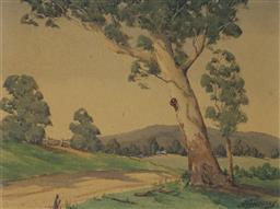 Sale 9143A - Lot 5041 - A. JOSSBERRY - Untitled 23 x 30 cm (frame: 39 x 46 x 2 cm)