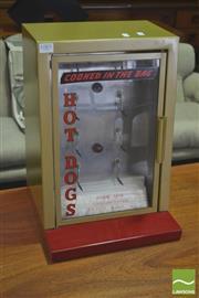 Sale 8310 - Lot 1085 - Shop Counter Hot Dog Machine