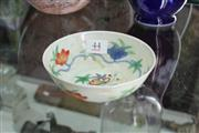Sale 8322 - Lot 44 - Doucai Musk Mallow Bowl with Chenghua Mark