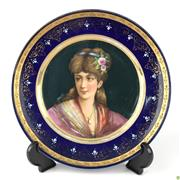 Sale 8562R - Lot 100 - Royal Vienna Cabinet Plate (D: 23.5cm)