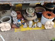 Sale 8601 - Lot 1238 - Collection of Various Planters