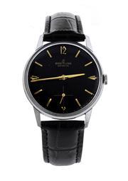 Sale 8618A - Lot 15 - A vintage Breitling c1960 wristwatch;