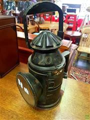 Sale 8643 - Lot 1090 - 19th Century London LCN20 Railway Oil Lantern