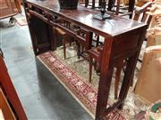 Sale 8700 - Lot 1063 - Oriental Hall Table