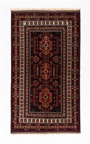 Sale 8780C - Lot 295 - A Persian Balouchi 100% Wool Pile, 216 x 116cm