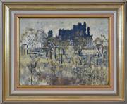 Sale 8411A - Lot 5066 - David Schlunke (1942 - ) - Limestone Ridge (near Chillagoe, North Queensland) 29 x 38.5cm