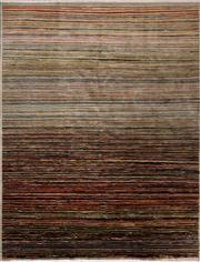 Sale 8455C - Lot 54 - Afghan Chobi Stripe 192cm x 152cm