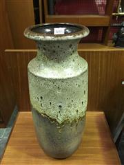 Sale 8643 - Lot 1093 - West German Scheurich Drip-Glaze Vase, no.239-41 (H: 41cm)