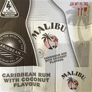 Sale 8801W - Lot 4 - 6x Malibu Rum Liqueur, 1000ml