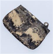 Sale 8891F - Lot 77 - A Jimmy Choo marble printed patent leather clutch, H 20 x L 31cm