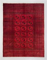Sale 8499C - Lot 95 - Afghan Qunduzi 278cm x 203cm