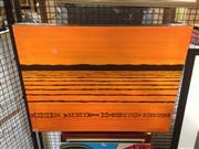 Sale 8636 - Lot 2032 - Ernie Gerzabek - Wading Bird acrylic on canvas, 71 x 56cm