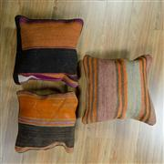 Sale 8657C - Lot 81 - 3 x Persian Cushions 40cm x 40cm