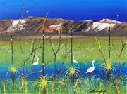 Sale 8755 - Lot 505 - Peter Coad (1947 - ) - Waterbirds, Kakadu Sketchbook 32.5 x 44cm