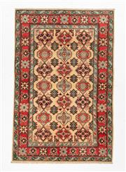 Sale 8780C - Lot 297 - An Afghan Kazak 100% Wool And Natural Dyes, 179 x 118cm