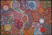 Sale 8821A - Lot 5021 - Michelle Possum Nungurrayi (1967 - ) - Grandmothers Country 94 x 65cm