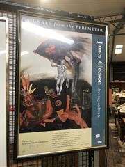 Sale 8824 - Lot 2054 - James Gleeson Exhibition Poster, signed and ed. 10/100 -