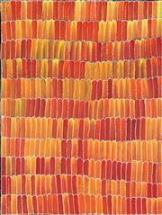 Sale 8895A - Lot 5025 - Jeannie Mills Pwerle (c1965 - ) - Yams 122 x 91.5 cm (stretched and ready to hang)