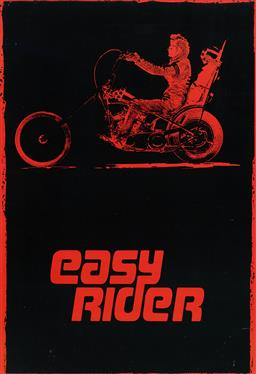 Sale 9212A - Lot 5091 - PETER FONDAS EASY RIDER re-release edition movie poster (unframed) 100 x 69.5 cm .