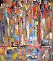 Sale 8286 - Lot 568 - Jamie Boyd (1948 - ) - Trees Across the River 181 x 155cm