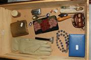 Sale 8384A - Lot 52 - Ladies Glove & Purses, Cigarette Lighter & Coins