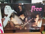 Sale 8421 - Lot 1048 - Vintage and Original Free Promotional Poster (51cm x 76cm)
