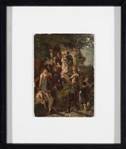 Sale 8518A - Lot 24 - European School, 19th Century - The marriage procession