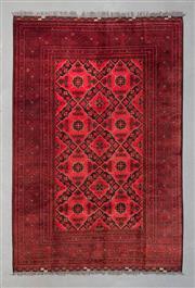 Sale 8499C - Lot 96 - Afghan Qunduzi 300cm x 200cm