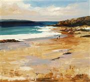 Sale 8732 - Lot 532 - Cheryl Cusick - Along the Ocean 102 x 102cm