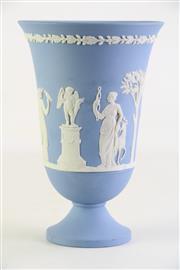 Sale 8860V - Lot 69 - A Wedgwood Urn Shaped Vase (H 19.5cm) Small Chip to Rim