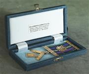 Sale 8319 - Lot 303 - 9ct gold Masons medal