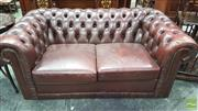 Sale 8375 - Lot 1036 - Moran Chesterfield Style Two-Seater Lounge