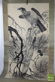 Sale 8505 - Lot 71 - Eagle Themed Scroll