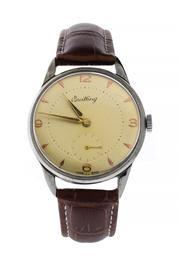 Sale 8618A - Lot 23 - A vintage Breitling c1950's wristwatch;