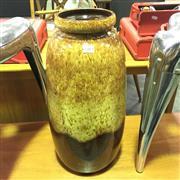 Sale 8643 - Lot 1069 - West German Drip-Glaze Vase, no.284-53 (H: 53cm)