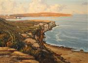 Sale 8665 - Lot 516 - Doug Sealy (1937 - ) - North Head, Sydney 64.5 x 90cm