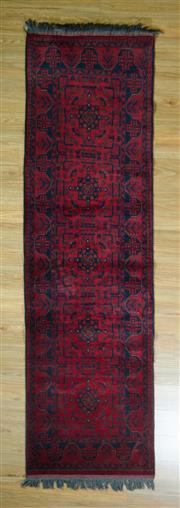 Sale 8672C - Lot 61 - Afghan Khal Mohamadi 282cm x 80cm