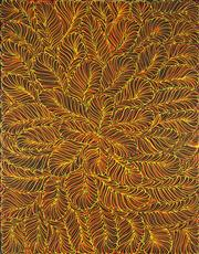 Sale 8895A - Lot 5028 - Rosemary Pitjara (c1965 - ) - Untitled 120 x 90 cm (stretched and ready to hang)
