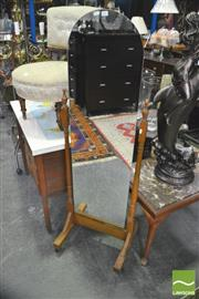 Sale 8352 - Lot 1052 - Cheval Mirror on Stand