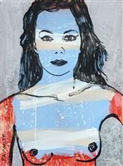 Sale 8504 - Lot 545 - David Bromley (1960 - ) - Belinda 121 x 90cm