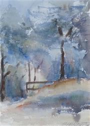 Sale 8518 - Lot 2037 - Elizabeth Wadsworth (1952 - ) - Misty Morning 36.5 x 26.5cm