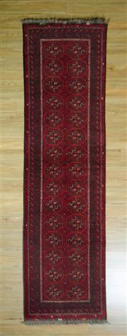 Sale 8672C - Lot 62 - Afghan Qunduzi 294cm x 79cm
