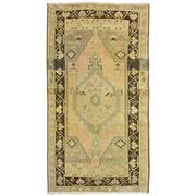 Sale 8761C - Lot 22 - A Vintage Turkish Yah Yali Carpet, Hand-knotted Wool, 185x100cm $1,800