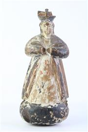 Sale 9018O - Lot 852 - Filipino Santo Figure of a Bishop ( H 29cm, chip to top)