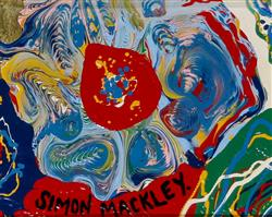 Sale 9093A - Lot 5041 - Simon Mackley (1967 - ) - Ancient Design 12 x 15 cm (frame: 34 x 35 x 3 cm)