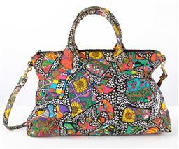 Sale 9250F - Lot 50 - A Jenny Kee design carry bag, Height 31cm x Width 45cm.