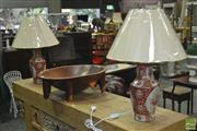 Sale 8310 - Lot 1631 - Pair of Monarch Table Lamps (4533)